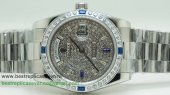 Rolex Day Date Automatic S/S 36MM Diamonds Sapphire RXG242