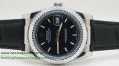 Rolex Date Just Automatic Cuir 36MM Sapphire RXG219