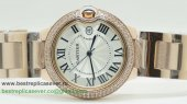 Cartier Ballon bleu de Cartier Quartz Diamonds Bezel CRG148