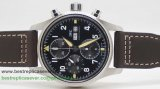 IWC Pilot Asia Valjoux 7750 Automatic Working Chronograph ICG154