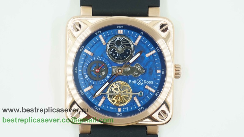 Bell & Ross BR02 Automatic Tourbillon Moonphase BRG43