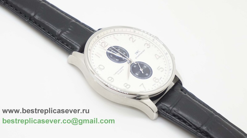 IWC Portuguese Working Chronograph ICG23