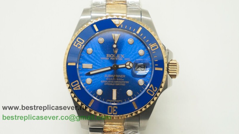 Rolex Submariner Automatic S/S Ceramic Bezel Sapphire 44MM RXG215